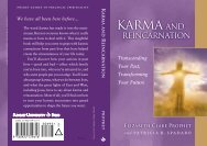 Karma and Reincarnation: Transcending Your Past, Transforming ...