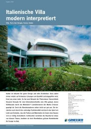 Italienische Villa modern interpretiert - Sun-Protect GmbH