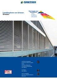Produktprospekt und techn. Infos Grinotex II - Sun Protect GmbH
