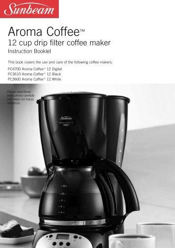 Aroma Coffee™ - Sunbeam