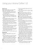 Aroma Coffee™ - Sunbeam - Page 6