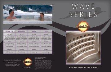Wave Series - Sunbelt Spas