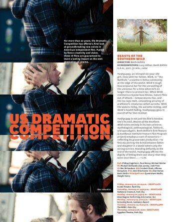 US DRAMATIC COMPETITION - Sundance Institute