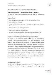 Protokoll Regionsforum II - Sundern