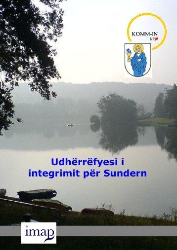 Udhërrëfyesi i integrimit për Sundern
