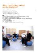 Motion og Kost i dit SundhedsHus (MKiS) - Sundhed.dk - Page 3