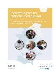 Forløbsprogram for demens – Region Sjælland – 1 - Sundhed.dk