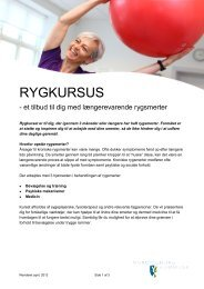 RYGKURSUS - Vordingborg Kommune