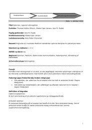Dato: 1. oktober 2012 Titel Epikriser, regional ... - Sundhed.dk