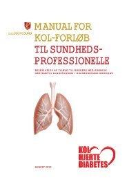 Hent manual til KOL-forløb her. - Sundhed.dk