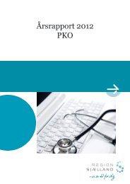 Årsrapport 2012 PKO - Sundhed.dk