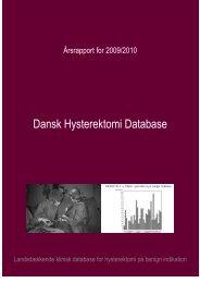 Dansk Hysterektomi Database - Sundhed.dk