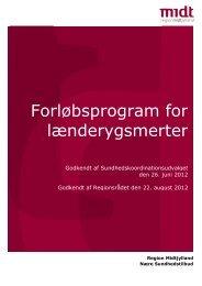 Forløbsprogram for lænderygsmerter - Sundhed.dk