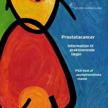 Prostatacancer – information til praktiserende læger - Sundhed.dk