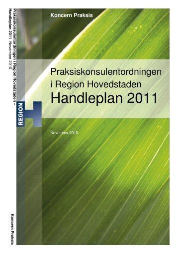 Handleplan 2011 - Sundhed.dk