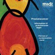 Pjece om prostatacancer - Sundhed.dk