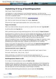 Se vejledning til Social-Medicinsk Tolkeservice A/S her - Sundhed.dk