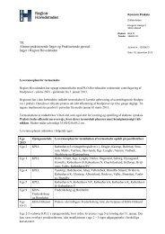 Leveranceplan for termoskab (pdf) - Sundhed.dk