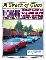 Central Valley Corvettes Magazine - September 2014