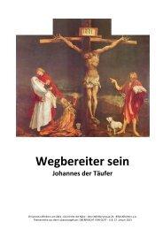 Johannes der Täufer - Chrischona Gemeinde Affoltern