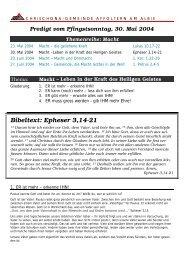 Unterlagen (040530.pdf) - Chrischona Gemeinde Affoltern