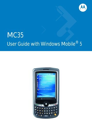 Download MC35 User Guide - Vision ID