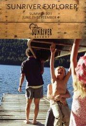 SUNRIVER EXPLORER - Sunriver Resort