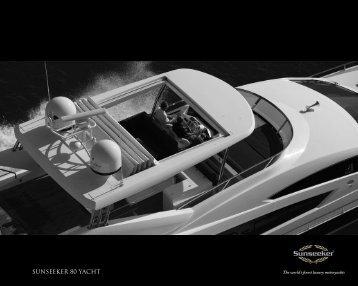 SUNSEEKER 80 YACHT - Navis Marine NV