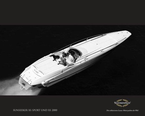 SunSeeker XS Sport und XS 2000 - Sunseeker ME