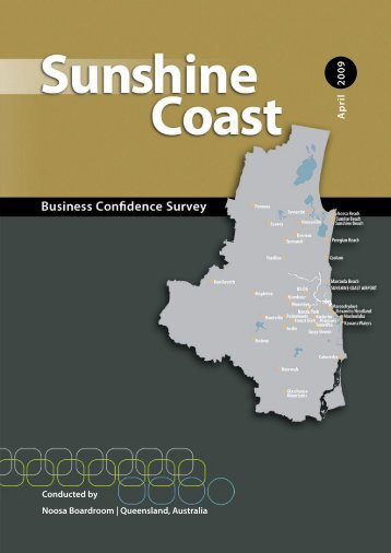 April 2009 - Sunshine Coast Council