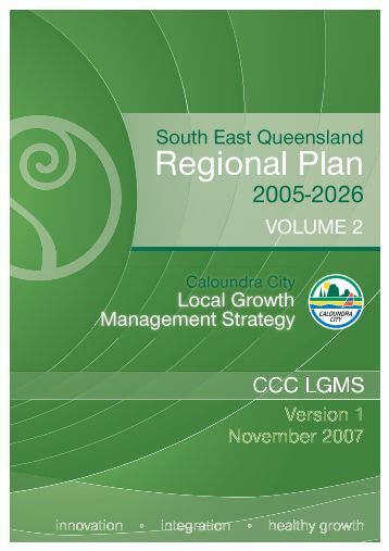 Local Growth Management Strategy (Version 1) - Sunshine Coast ...