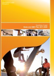 Sunshine Coast Skate and BMX Plan 2011-2020