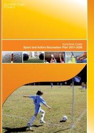 Sunshine Coast Sport and Active Recreation Plan 2011-2026
