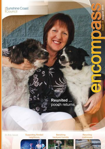 Reunited ... pooch returns - Sunshine Coast Council