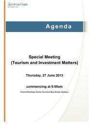27 June 2013 - Sunshine Coast Council - Queensland Government