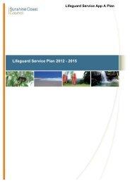 Lifeguard Service Plan - Sunshine Coast Council - Queensland ...