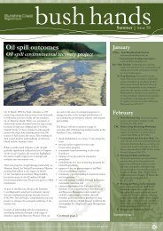 Oil spill outcomes - Sunshine Coast Council - Queensland ...