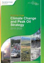 Sunshine Coast Climate Change and Peak Oil Strategy 2010-2020