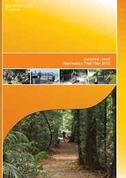 Sunshine Coast Recreation Trail Plan 2012
