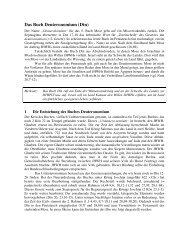 Das Buch Deuteronomium (Dtn)