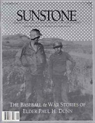 THE PAUL DUNN STORIES - Sunstone Magazine