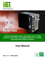 TANK-800 Embedded System