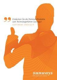 Entdecken Sie die Premium-Produkte vom ... - Sunways AG