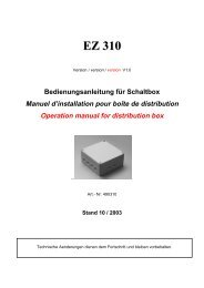 Anleitung EZ 310