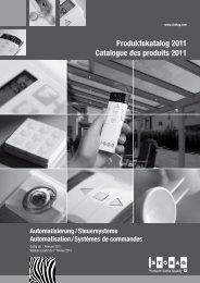 Produktekatalog 2011
