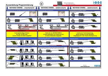 Kurzanleitung Programmierung - Stobag