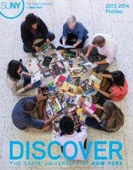 SUNY Profiles - The State University of New York