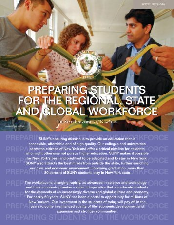 preparing students for the regional, state and global workforce ...