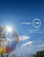 Report Card 2012 / Diversity Counts - The State University of New ...