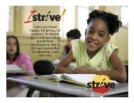 STRIVE Presentation - The State University of New York